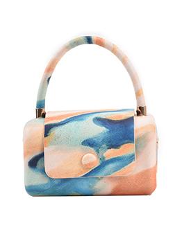 Casual Printed Hasp Shoulder Bag For Women
