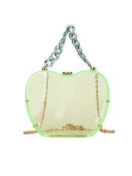 Summer Apple Perspective Hardness Chain Shoulder Bag