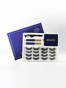 Euro Style 8 Pairs Pack False Eyelashes Set