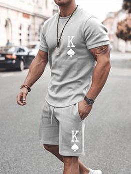 Trendy Casual Summer Men Plus Size Sportswear