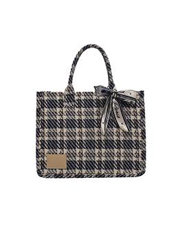 New Arrival Plaid Fashion One Shoulder Tote Bag