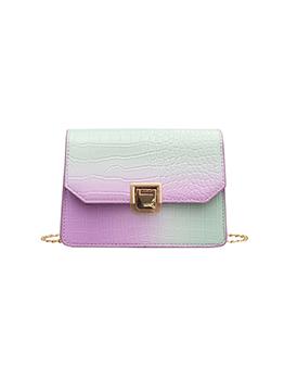 Gradient Color Fashion Temperament Shoulder Bag