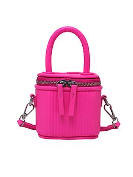 Versatile Easy Matching Solid Zipper Women Shoulder Bag
