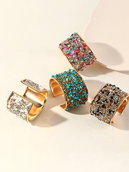 Fashion Hyperbole Colourful Rhinestone Retro Bracelet