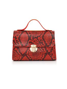 Fashion Snake Print Vintage Handbags For Women