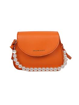 Modern Faux-Pearl Letter Simple Handbags