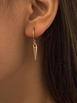 Temperament Solid Chic Long Women Earring