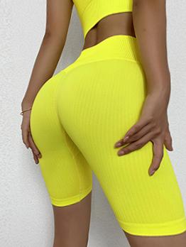 Popular Solid High Waist Yoga Leggings