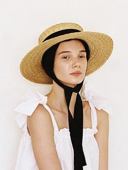 Summer Handmade Weave Beach Straw Sun Hat