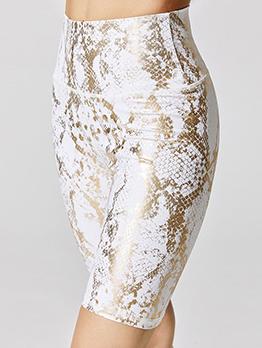 Chic Print Tight High Waisted Yoga Leggings