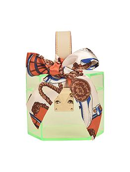 Acrylic Transparent Bow Design Handbags
