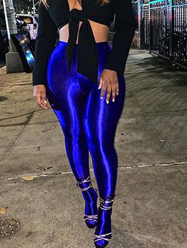 Active Solid Long Legging For Women