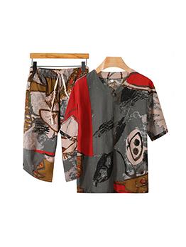 Loose T Shirt With Drawstring Pants