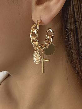 Fashion Hollow Out Design Women Earrings