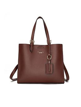 Simple Design Shoulder Tote Bag For Women