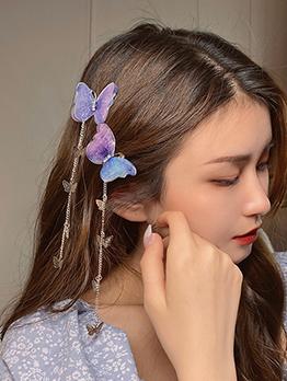 Honey Girl Butterfly Design Hair Accessories