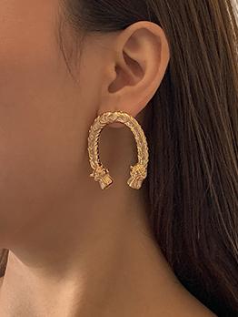 Vintage Royal Court Style Trendy Stud Earrings