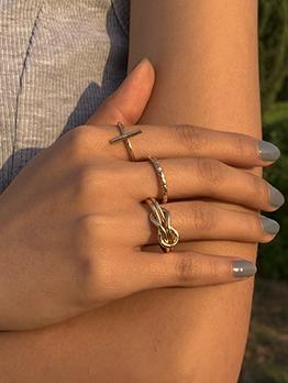 Fashion Trendy Cool Rings Set For Ladies