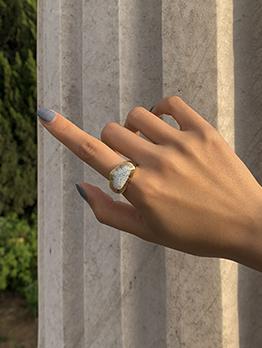 Geometry Irregular Simple Women Ring Accessories