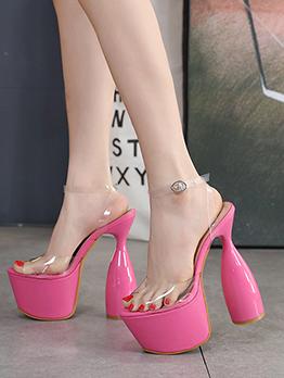 New Platform High Heels Summer Sandals