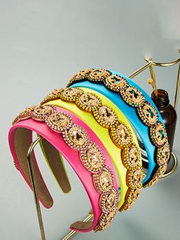 Create Latest Style Vintage Colourful Rhinestone Hair Hoop