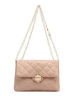 Korean Rhombus Lattice Chain Shoulder Bag For Women
