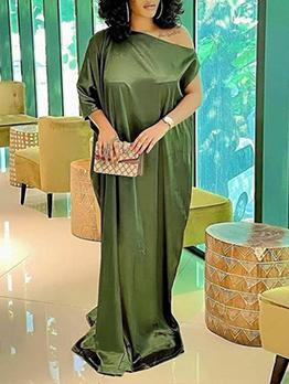 New Fashion Plus Size Maxi Dress For Women