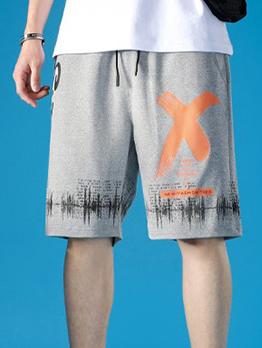 Casual Print Short Pants For Men