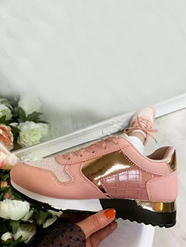 Lace Up Sport Casual Fashion Women Sneakers