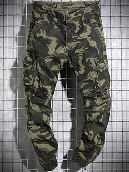 New Camouflage Exercise Cargo Pants Men
