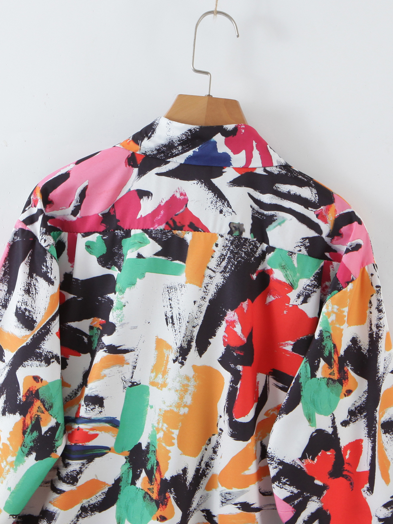Vacation Printed Long Sleeve Blouse For Women