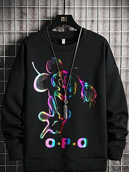 Street Hip Hop Teenagers Stylish Versatile Sweatshirts