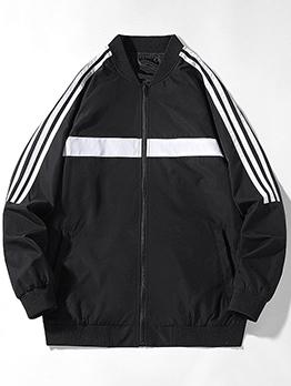 Autumn Versatile Plus Size Jacket Coat For Men
