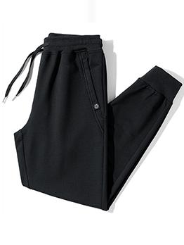 Casual Autumn Sport Drawstring Plus Size Pencil Pants