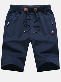 Casual Beach Half Length Pants For Men Summer