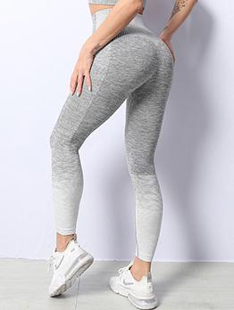 Jogging Contrast Color Legging Long Pant For Women