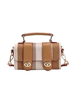 Designer Contrast Color Shoulder Bag For Women