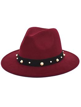 Comfort Fashion Faux-Pearl Jazz Hat