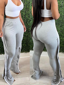 Training Striped Long Pant For Women