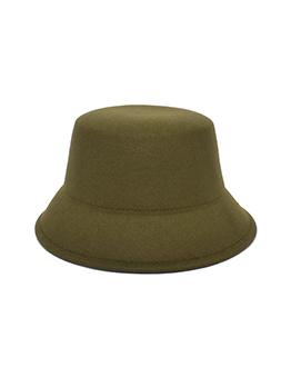 Simple Design Pure Color Unisex Bucket Hat