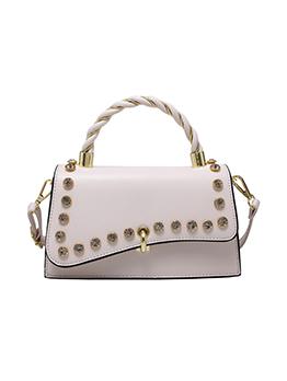 Korean Style PU Rhinestone Shoulder Bags
