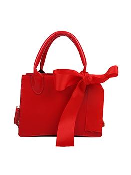 Wedding Bag Solid Bow High Capacity Shoulder Bags