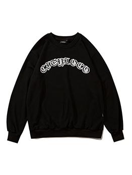 New Loose Crew Neck Pullover Sweatshirt
