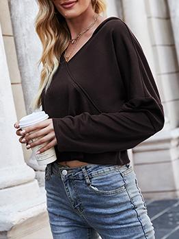 Casual Autumn Versatile Long Sleeve Hoodies Women