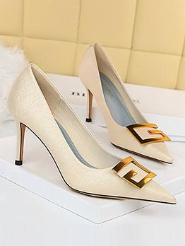 Korean Style Fashion Evening Slip On Heel For Ladies