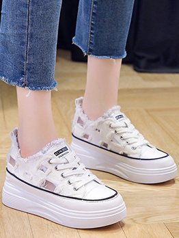 Korean Style Wedge Shoes For Women