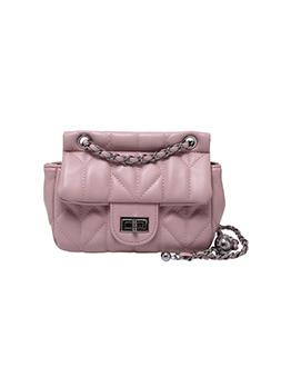 Fashion Pure Color Chain Shoulder Bag For Women