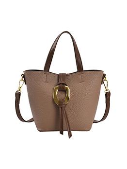 Vintage Patchwork Shoulder Bucket Handbag For Women
