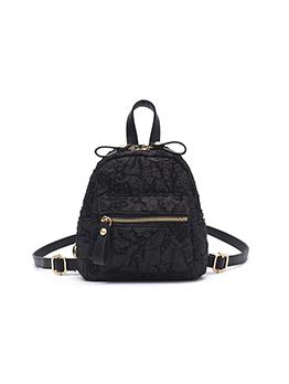 Elegant Fashion Ruched Travel Backpack For Women
