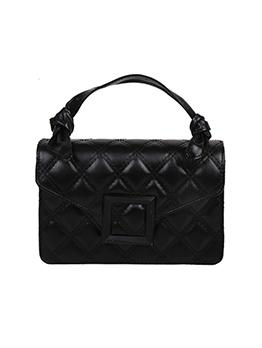 Trendy Rhombus Lattice Hasp Shoulder Bag For Women